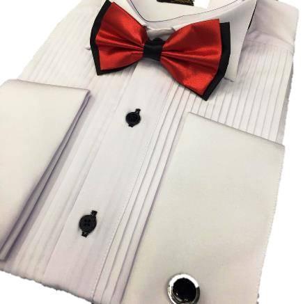 Tuxedo collar men's shirts