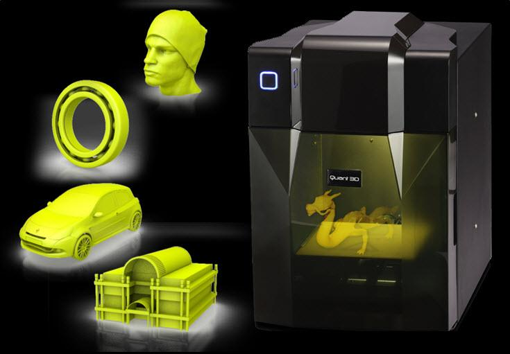 Vendita stampanti 3d, prototipazione rapida 3d