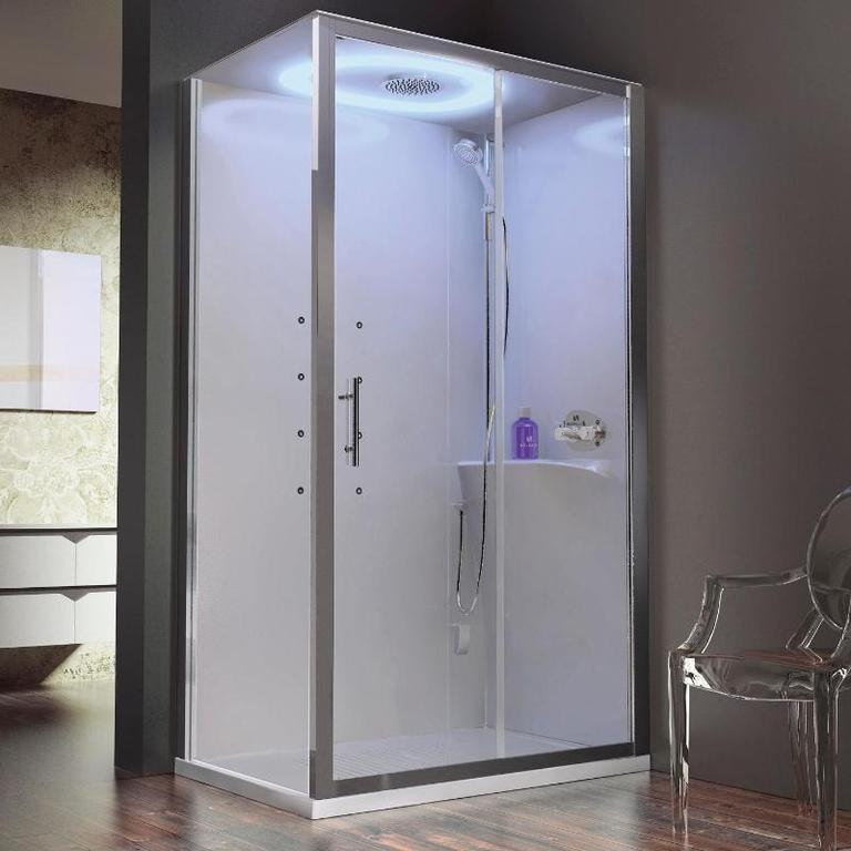 Cabina doccia completa con sauna