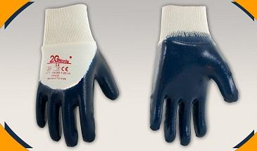 Nitrile Coated Cotton Work Gloves