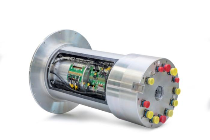 Slip Ring with cast modules and gold-on-gold technology