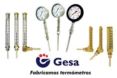 Fabricantes de termómetros a medida. amplio catálogo para todo tipo de aplicaciones. Modelos estandarizados en stock