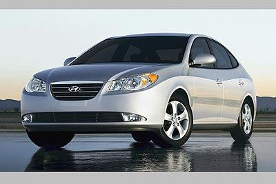 Our rental cars are Hyundai Elantra (2010)