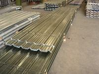 Corrugated sheet for covers and walls