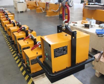 HBEP-Electro Permanent Magnetic Lifters with Battery