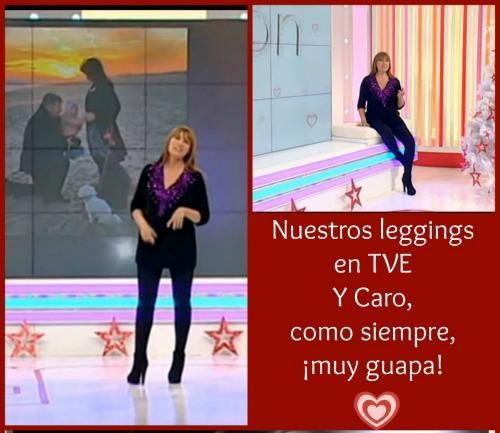 Diversas presentadoras de TV, Carolina Casado de TVE en este caso, visten nuestras pantys y leggins durante su embarazo. Póngase en contacto con nosotros y le enviarmos nuestro catálogo completo.