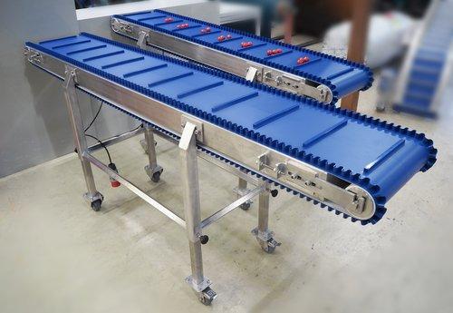 Lebensmittel - Transportband