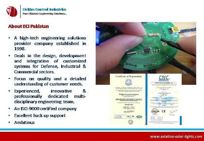 About Elektro Control Industries