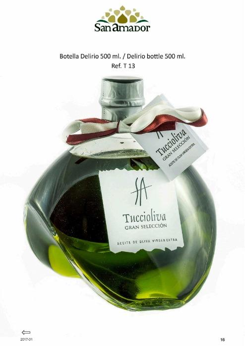 Delirio, aceite oliva virgen extra