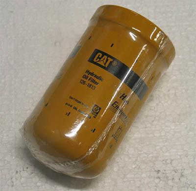 Filtre à huile hydraulique Caterpillar 126-1813 pour engins industriels - travaux