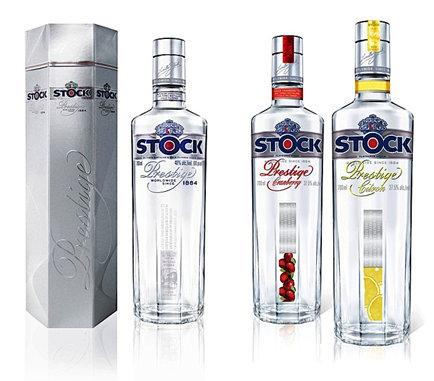 Stock Prestige packaging design.