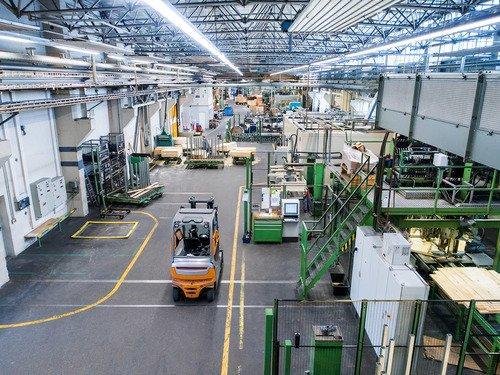 Hildebrandt Group, Produktion Holzspulen