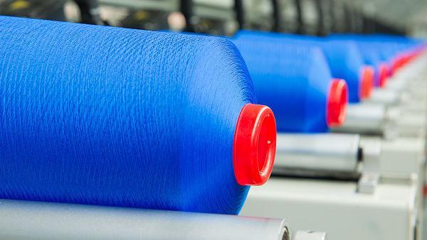 Nylon and polyester yarns