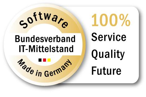 "baramundi software AG has been awarded with the seal of quality ""Software Made in Germany""."