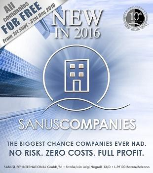 Exclusively for entrepreneurs. To reach more potential customers and increase sales, with minimum costs. www.sanuscompanies.com