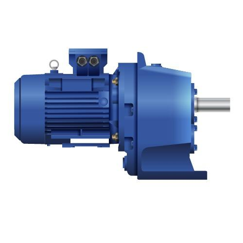 Cycloid gear motor 4MС2S