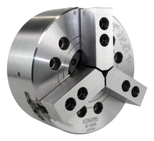 Kitagawa's B-200 series are the world's most popular chucks. The range of chucks are wide-ranging and so technologically advanced that solutions can be offered for all machining conditions.