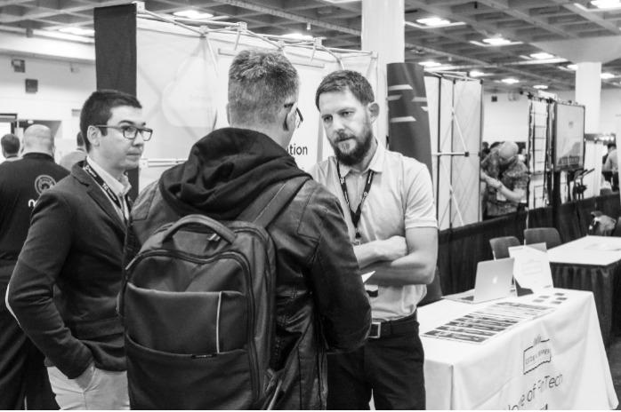 Code & Pepper at the TechCrunch Disrupt in San Francisco
