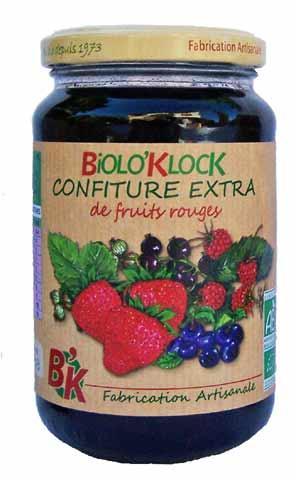 confiture fruits rouges bio