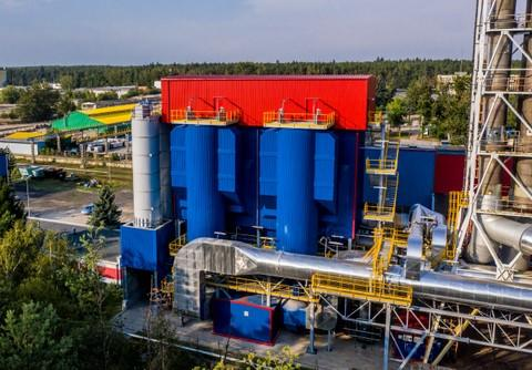 Flue gas cleaning installation - heat and power plant EC1 Lubin KGHM, Poland
