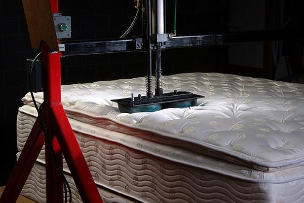 Production of mattresses custom made