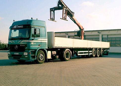 Lieferung & Transport von Pflastersteine