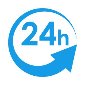 Our customer service is available 24/7 for any assistance.