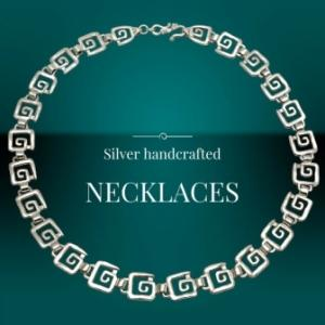 Handcrafted Silver Necklaces