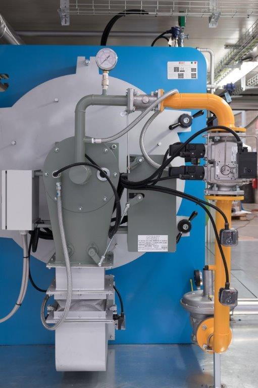 RS 2100 SAIT: rapid steam generator: 3000 kg/h