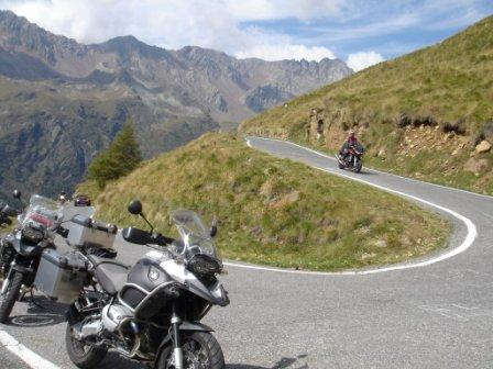 The alpe, paradise for bikers