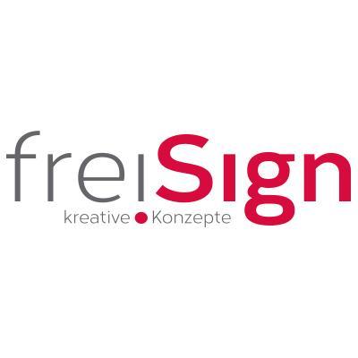 Seit Dezember 2015 präsentiert sich freiSign mit einem neuen Logo.