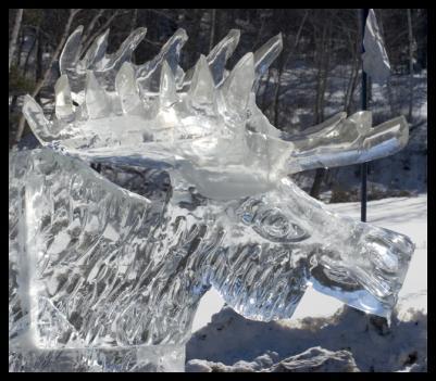 Statua di ghiaccio