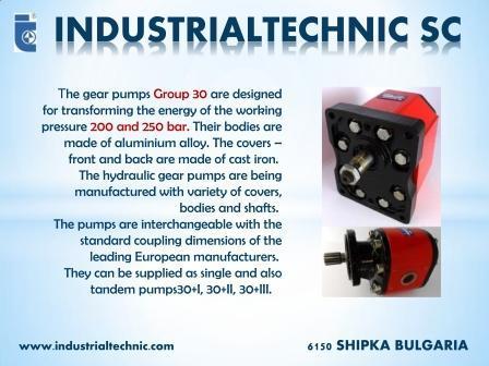 gear pumps Group 30