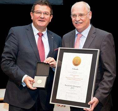Verleihung Bayerischer Staatpreis 2015