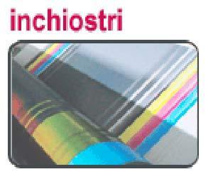 Serie di inchiostri flessografici  opachi e lucidi, adatti alla stampa di carta