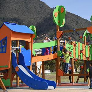 Galopín Playrground in Bogotá - Colombia.