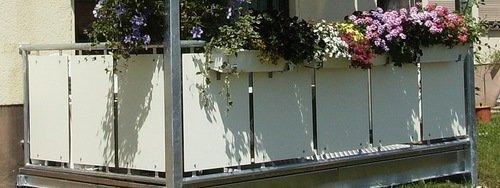 HPL-Balkonverkleidung