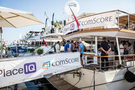 One of our yachts at Cannes Lions 2017
