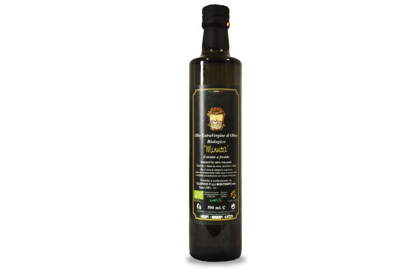 Quest'olio d'oliva biologico è di altissima qualità. Le olive vengono raccolte a mano e sono molite a freddo entro 8 ore dalla raccolta. Si ottiene un'olio fruttato e dalla bassa acidità.
