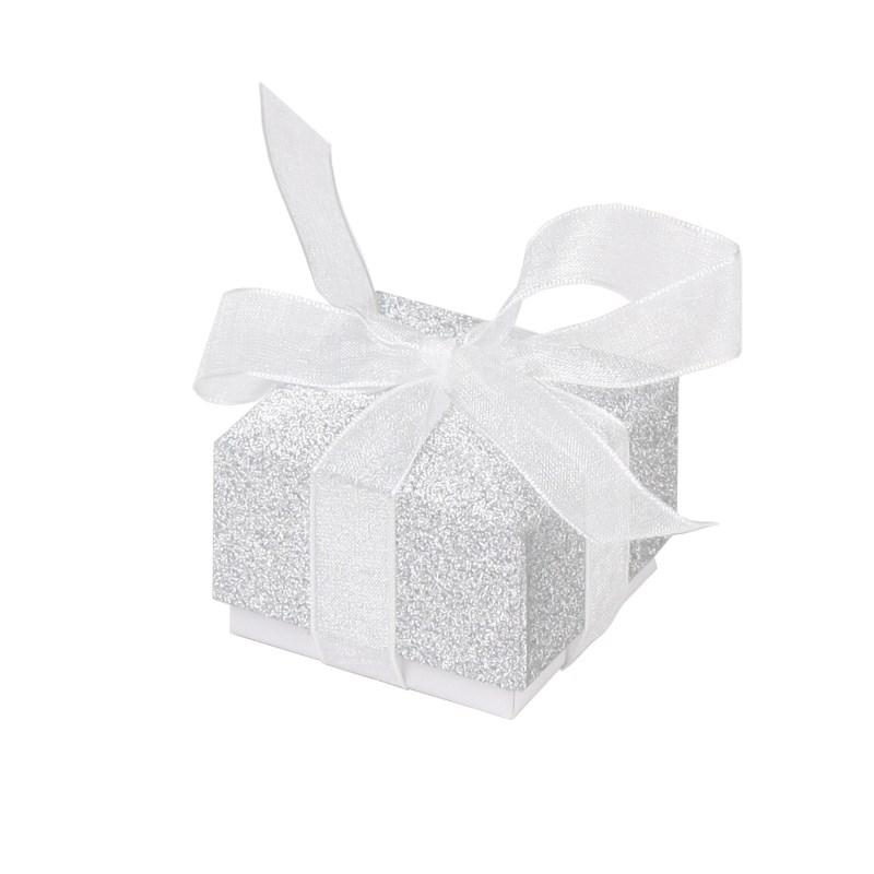 Brocade paper box for jewelry;