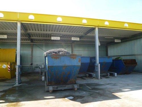 verfahrbarer Containerstellplatz NWF 100