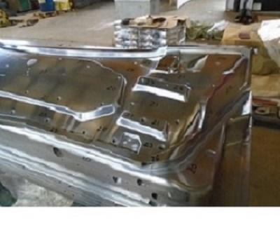 Molde with hard chrome plating