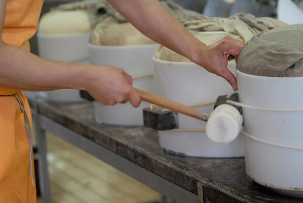 Produzzione del Parmigiano Reggiano