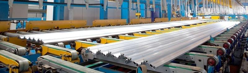Aluminium Strangpresswerk