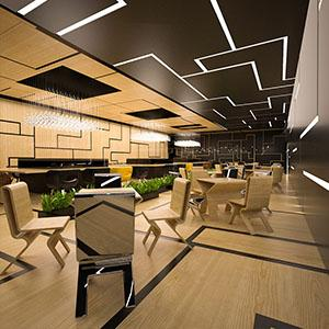 "Interior design by MONNE Design Studio ""Mystique Bar"""