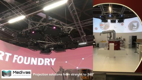 Medivas Projektions Lösungen zur Miete