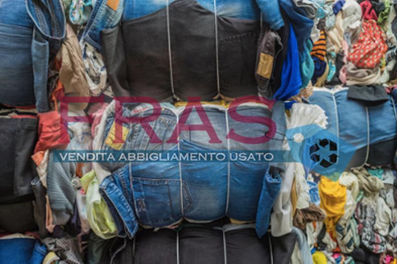 FRAS Used  Clothing Italy  abbigliamento di seconda mano