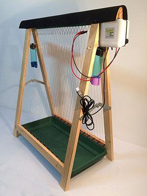 Electro-trampa anti velutina para agua