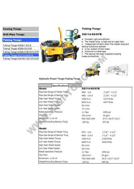 XIQI OILFIELD EQUIPMENT MANUFACTURER CO , LTD, Adjustment - machine
