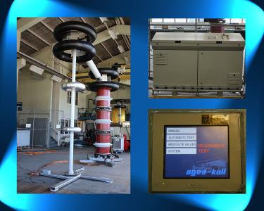 Frequency Variable On-Site Test System for GIS